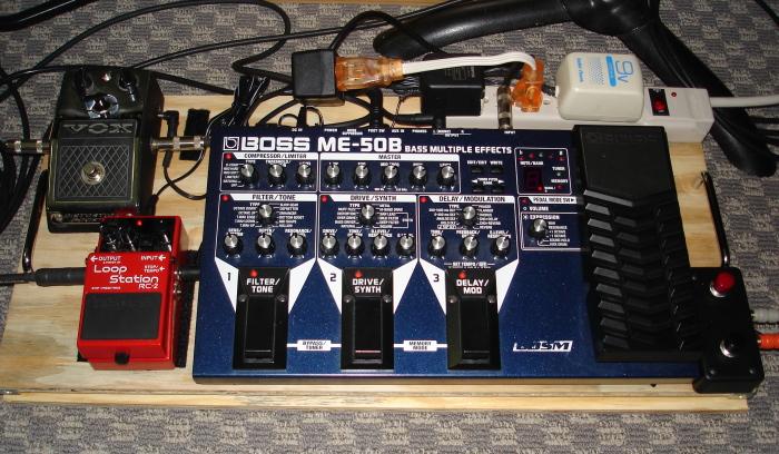 my new pedal board trent jacobs bassoonist. Black Bedroom Furniture Sets. Home Design Ideas